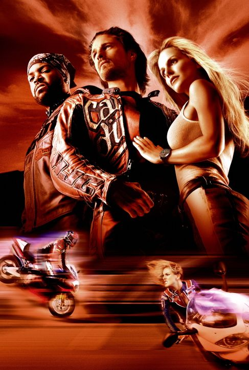 Hart am Limit: Cary (Martin Henderson, M.), Shane (Monet Mazur, r.) und Trey (Ice Cube, l.) ... - Bildquelle: Warner Bros. Pictures