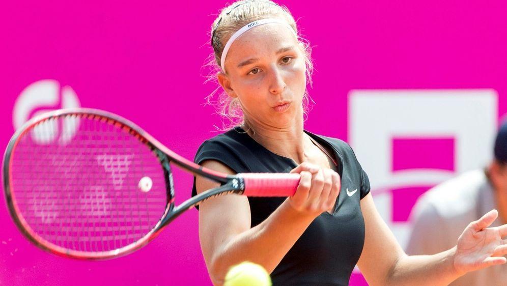 Tamara Korpatsch verpasst das Viertelfinale in Gstaad - Bildquelle: PIXATHLONPIXATHLONSID