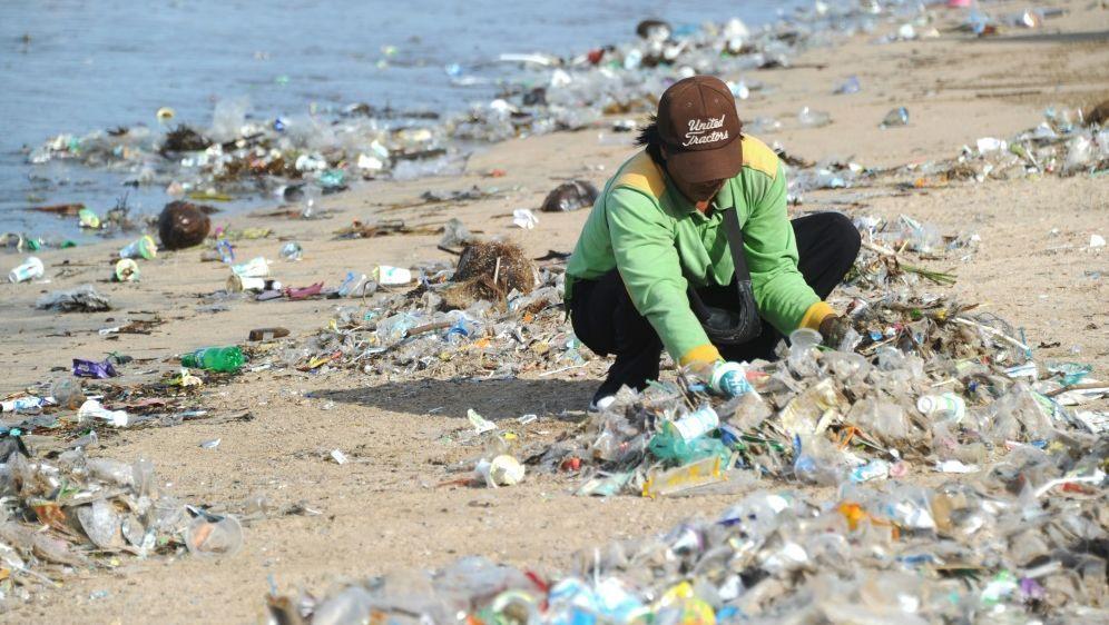 Forscher fordern plastikfreie Olympische Spiele in Tokio - Bildquelle: AFPSIDSONNY TUMBELAKA