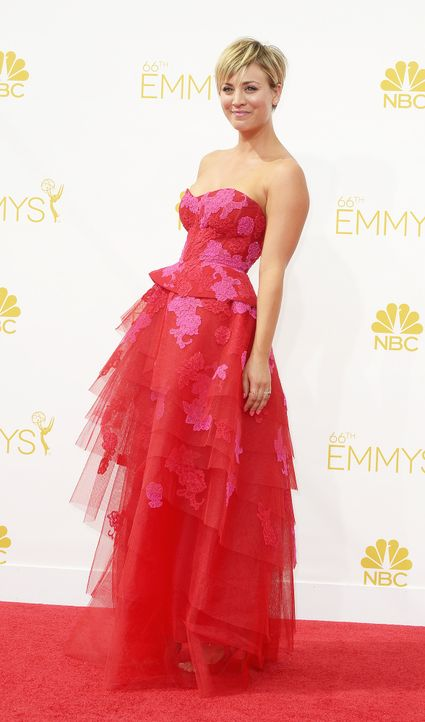 Kaley -Cuoco-14-08-26-Emmy-Awards-dpa - Bildquelle: dpa
