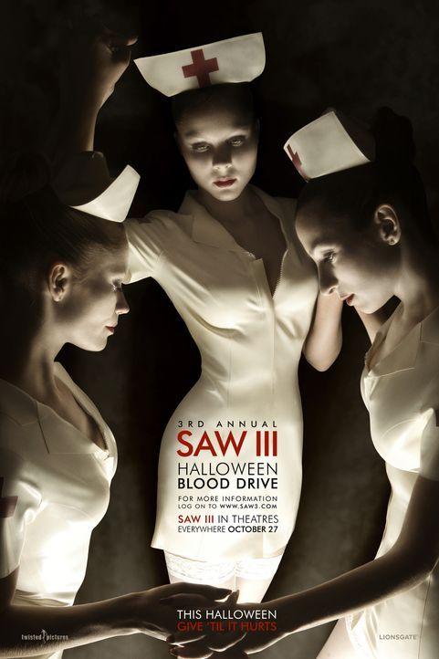 Saw III - Plakatmotiv - Bildquelle: Kinowelt Filmverleih GmbH