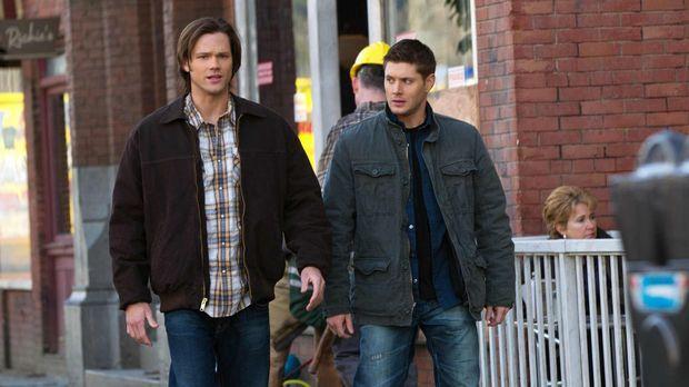Auf der Suche nach dem Grund für seltsame Tode machen Sam (Jared Padalecki, l...