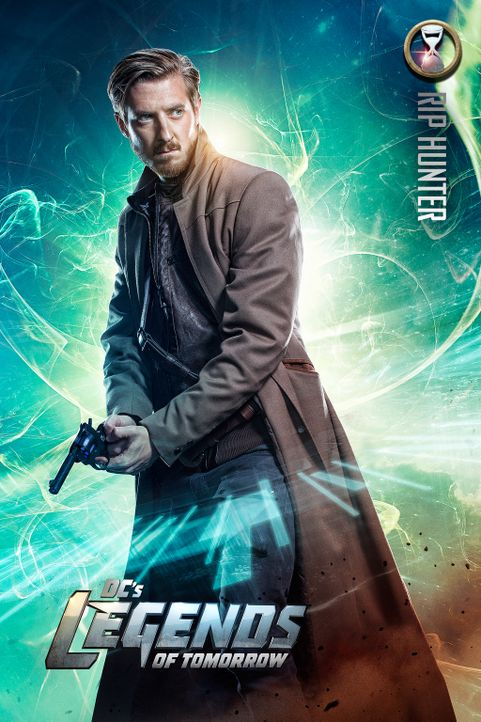 (1. Staffel) - Der ehemalige Time Master Rip Hunter (Arthur Darvill) muss mit ansehen, wie im Jahre 2166 der unsterbliche Vandal Savage seinem Ziel,... - Bildquelle: 2015 Warner Bros.