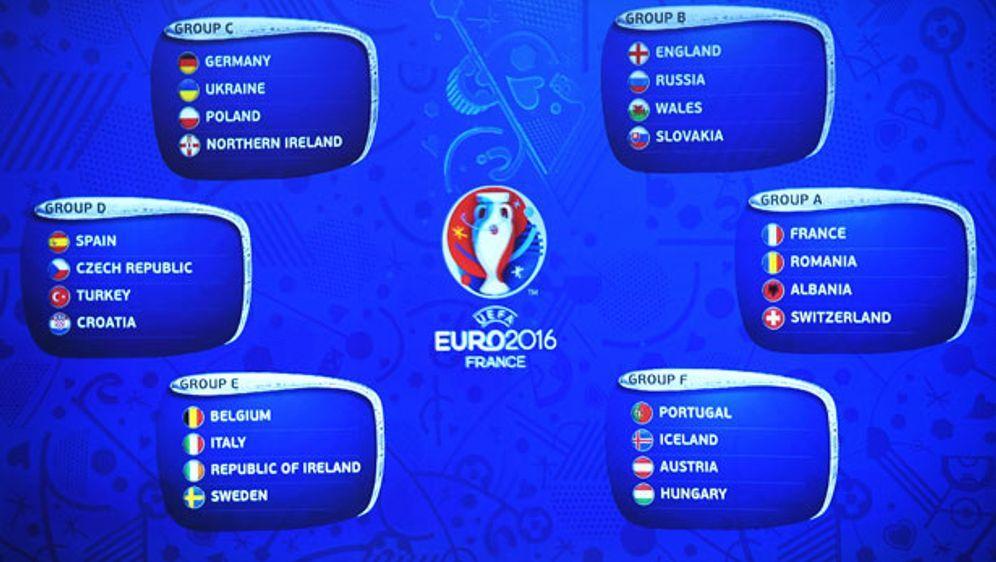 Der Spielplan der EM 2016 im Überblick. - Bildquelle: 2015 Getty Images