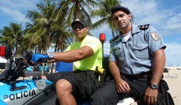 Die Strandpolizei der Copacabana - Bildquelle: kabel eins