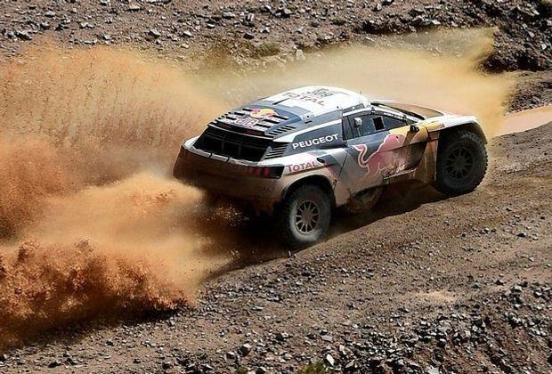 Sébastien Loeb gewinnt die 10. Etappe der Rallye Dakar