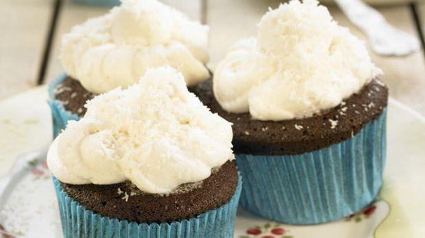 Hokuspokus: Cupcake mit Kokos