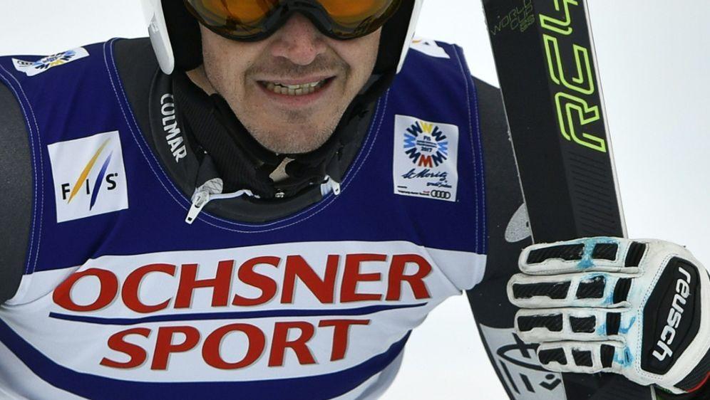 Ski-Rennläufer Steve Missillier hat sich erneut verletzt - Bildquelle: AFPSIDFABRICE COFFRINI