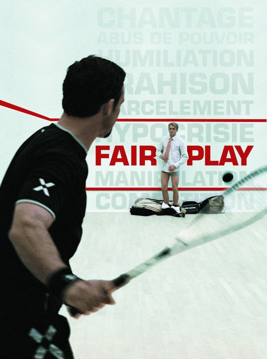 FAIR PLAY - SPIEL OHNE REGELN - Plakatmotiv - Bildquelle: 2006 Les Films Manuel Munz - Entre Chien et Loup - Okko Production - M6 Films - Araneo Belgium