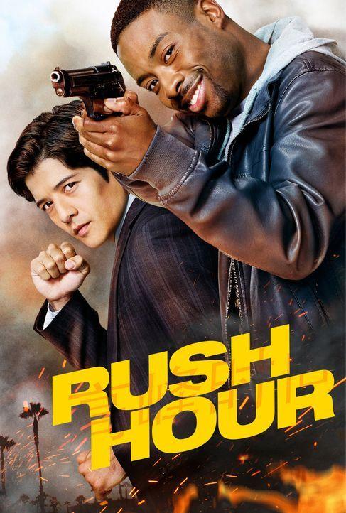 (1. Staffel) - Als Detective Carter (Justin Hires, r.) des LAPDs und Detective Lee (Jon Foo, l.) aus Hong Kong zusammenarbeiten müssen, ist Chaos vo... - Bildquelle: Warner Brothers