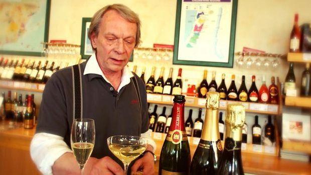 Sekt vs. Champagner