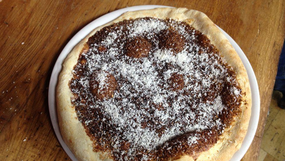 Pizza Coco-Schoko