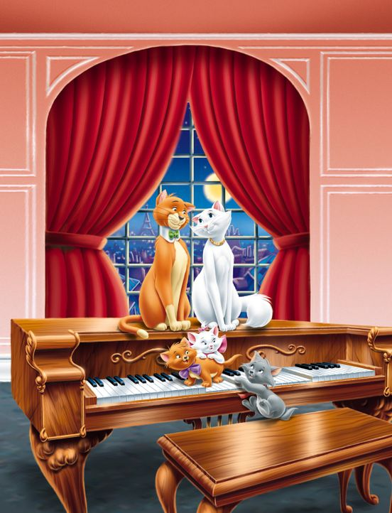 The Aristocats - Artwork - Bildquelle: The Walt Disney Company.  All rights reserved