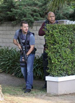Navy CIS: L.A. - Ein neuer Fall wartet auf Callen (Chris O'Donnell, l.) und S...
