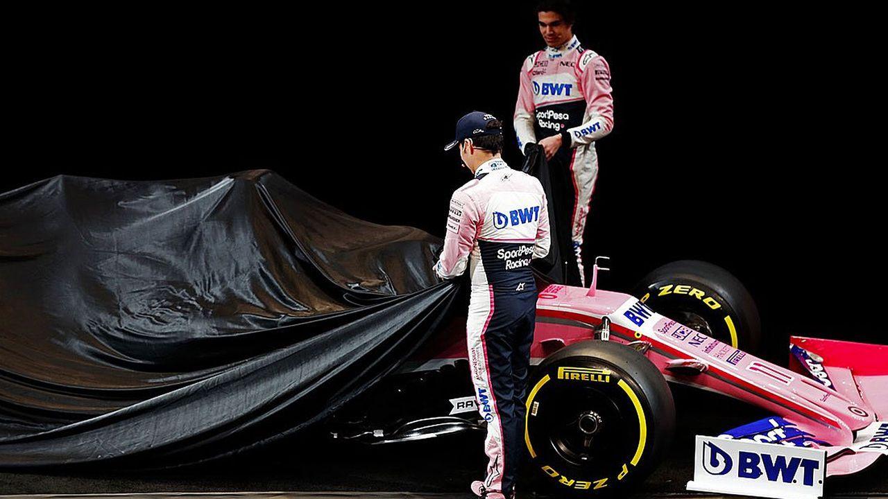 Formel-1-Autos 2019: Racing Point F1 Team   - Bildquelle: Twitter/@RacingPointF1