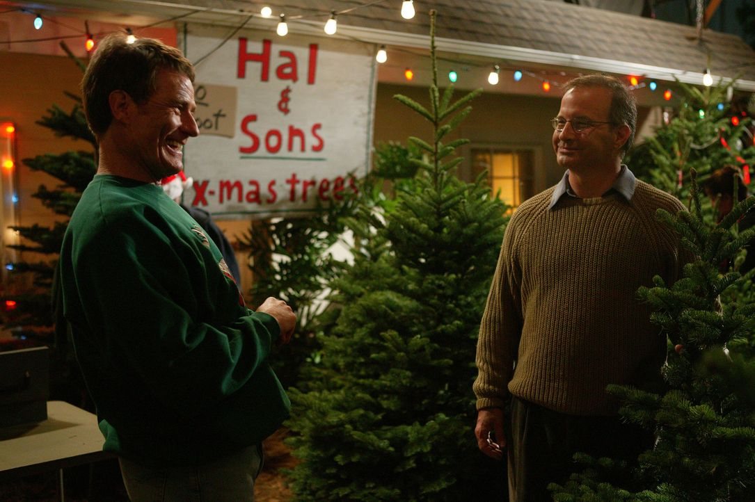 Hal (Bryan Cranston, l.) hat mit seinen Söhnen ein Unternehmen gegründet. Anfangs läuft das Geschäft gut, bis sich diverse Leute aufregen ... - Bildquelle: TM +   2000 Twentieth Century Fox Film Corporation. All Rights Reserved.