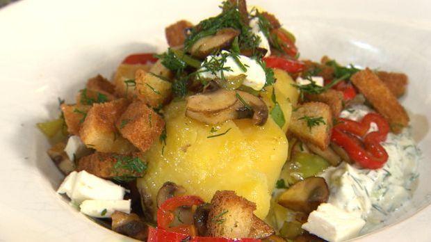 Kartoffel-Gemüse-Schmand