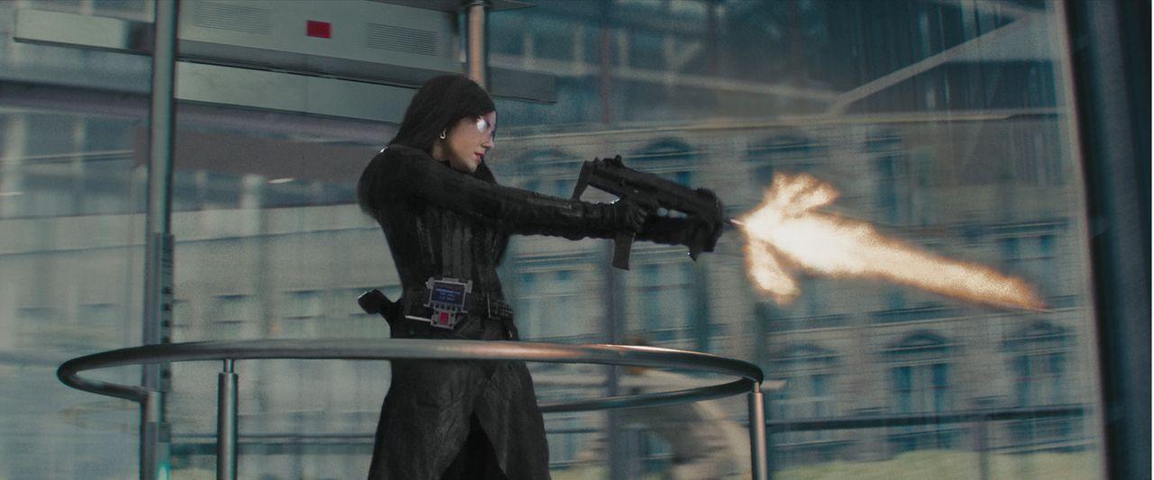 """Die Geheimorganisation Cobra der eiskalten """"Baroness"""" (Sienna Miller, M.) bedroht die gesamte Welt. Nur noch die Spezialtruppe der G.I. Joes kann de... - Bildquelle: 2009 Paramount Pictures Corporation. All Rights Reserved. Reserved."""