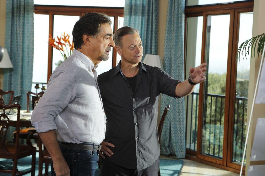 Ermitteln zusammen in einem neuen Fall: Jack Garrett (Gary Sinise, r.) und David Rossi (Joe Mantegna, l.) ... - Bildquelle: ABC Studios