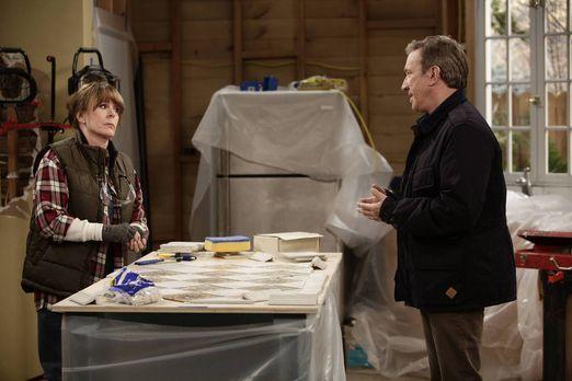 Mike (Tim Allen, r.) legt sich mit einer neuen Nachbarin (Patricia Richardson...