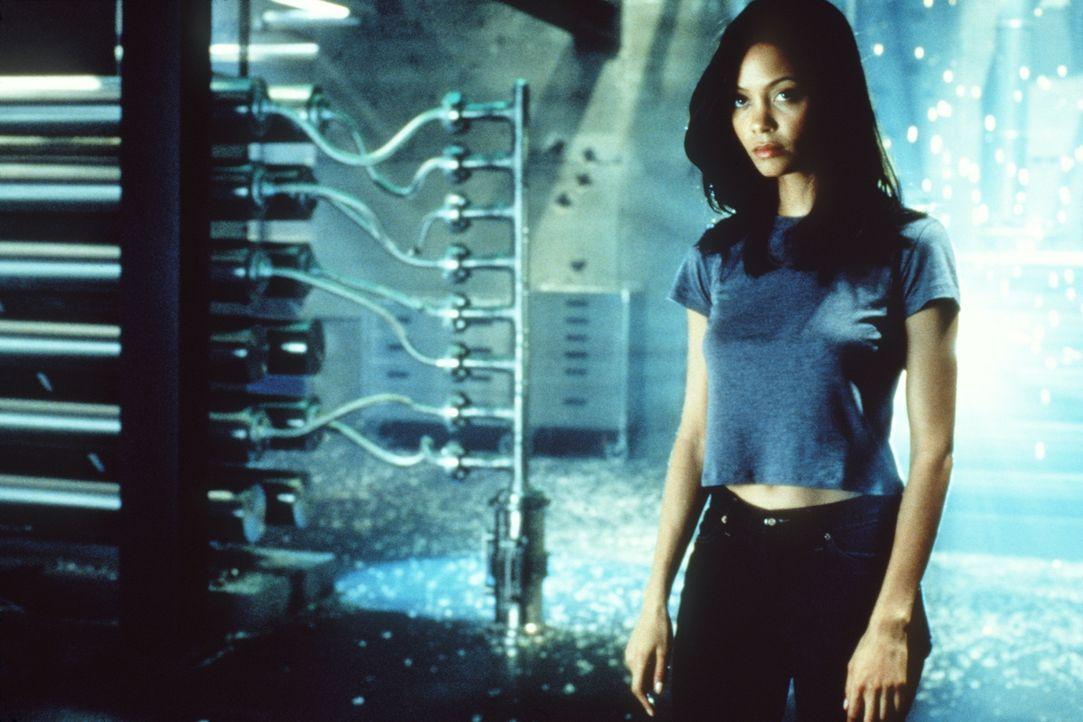 Die einzige Verbindung zum Feind stellt dessen Ex-Geliebte Nyah (Thandie Newton) dar ... - Bildquelle: Paramount Pictures