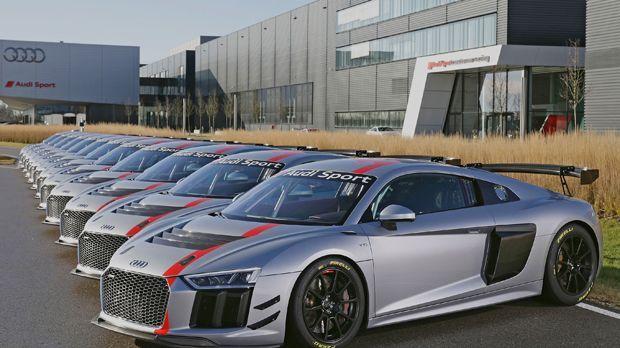 Audi Sport Seyffarth R8 LMS Cup - Bildquelle: Ferdi Kräling Motorsport-Bild GmbH