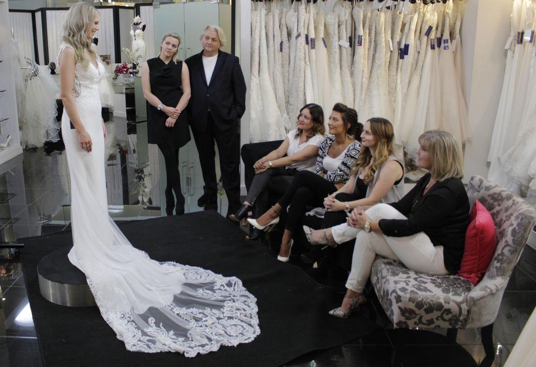 Braut Emily bezeichnet sich selbst als Kontrollfreak und wünscht sich ein Kl... - Bildquelle: TLC & Discovery Communications