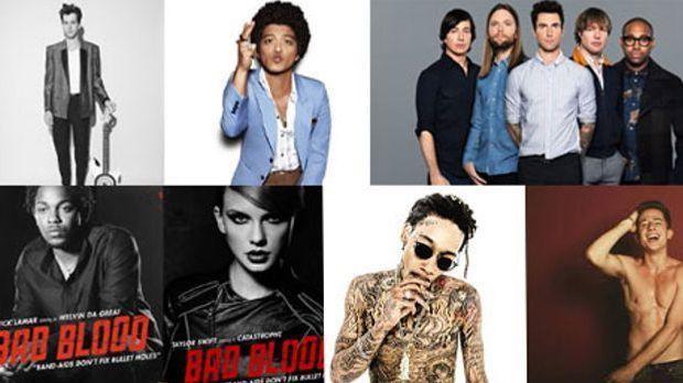 Die Grammys finden am 15. Februar in Los Angeles statt. Welche Gruppe oder we...