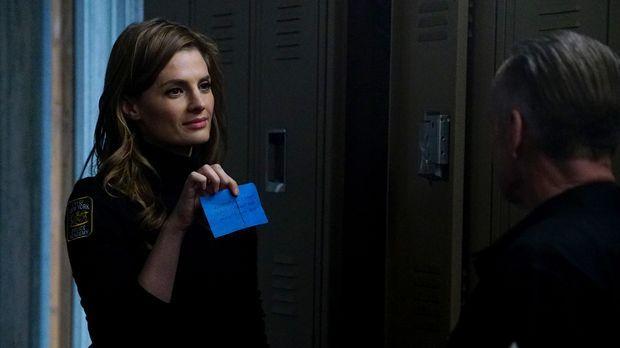 Beckett (Stana Katic) ermittelt undercover im Ausbildungszentrum des NYPD, na...