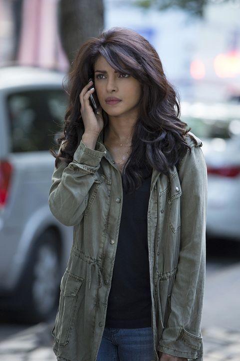 Wer ist der Terrorist in den eigenen Reihen? Um ihre Unschuld zu beweisen, versucht Alex (Priyanka Chopra) dieses herauszufinden ... - Bildquelle: 2015 ABC Studios