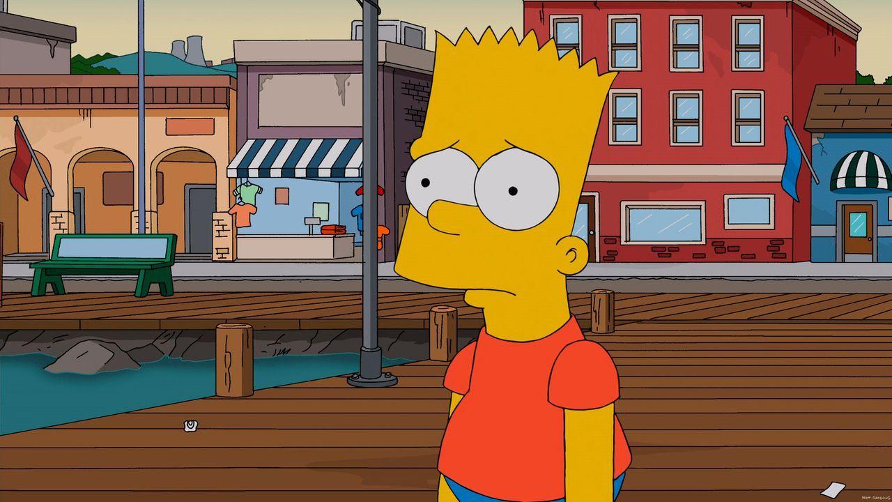 Hofft, von Rektor Skinner zur U-Bootfahrt mitgenommen zu werden: Bart ... - Bildquelle: 2013 Twentieth Century Fox Film Corporation. All rights reserved.