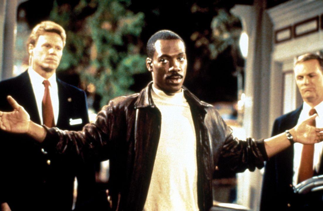 Als könnten diese Augen und dieser Mund lügen ... Beverly Hills Cop Axel (Eddie Murphy, M.) hat nichts zu verbergen, der Sicherheitschef von Wonde... - Bildquelle: Paramount Pictures