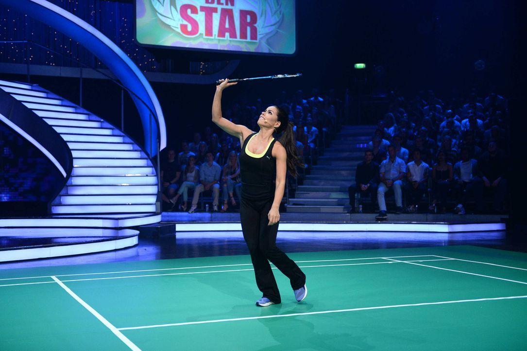 Jetzt zeigt sich, ob Fernanda Brandao das Zeug zum Badminton-Profi hätte ... - Bildquelle: Willi Weber ProSieben