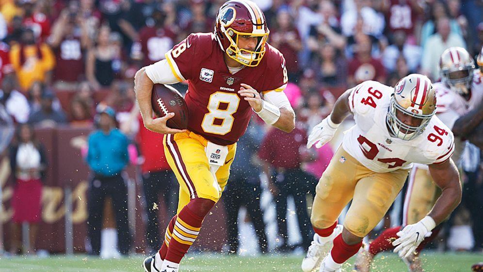 Free Agent Kirk Cousins wird von mehreren NFL-Teams gejagt - Bildquelle: 2017 Getty Images
