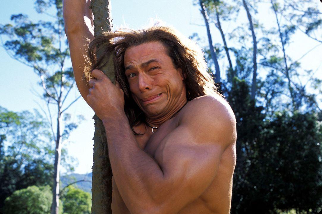 Der tollpatschige George (Christopher Showerman) wird nie begreifen, dass Bäume sich nicht bewegen - also fliegt er nicht an den ihnen vorbei, sond... - Bildquelle: Walt Disney Pictures