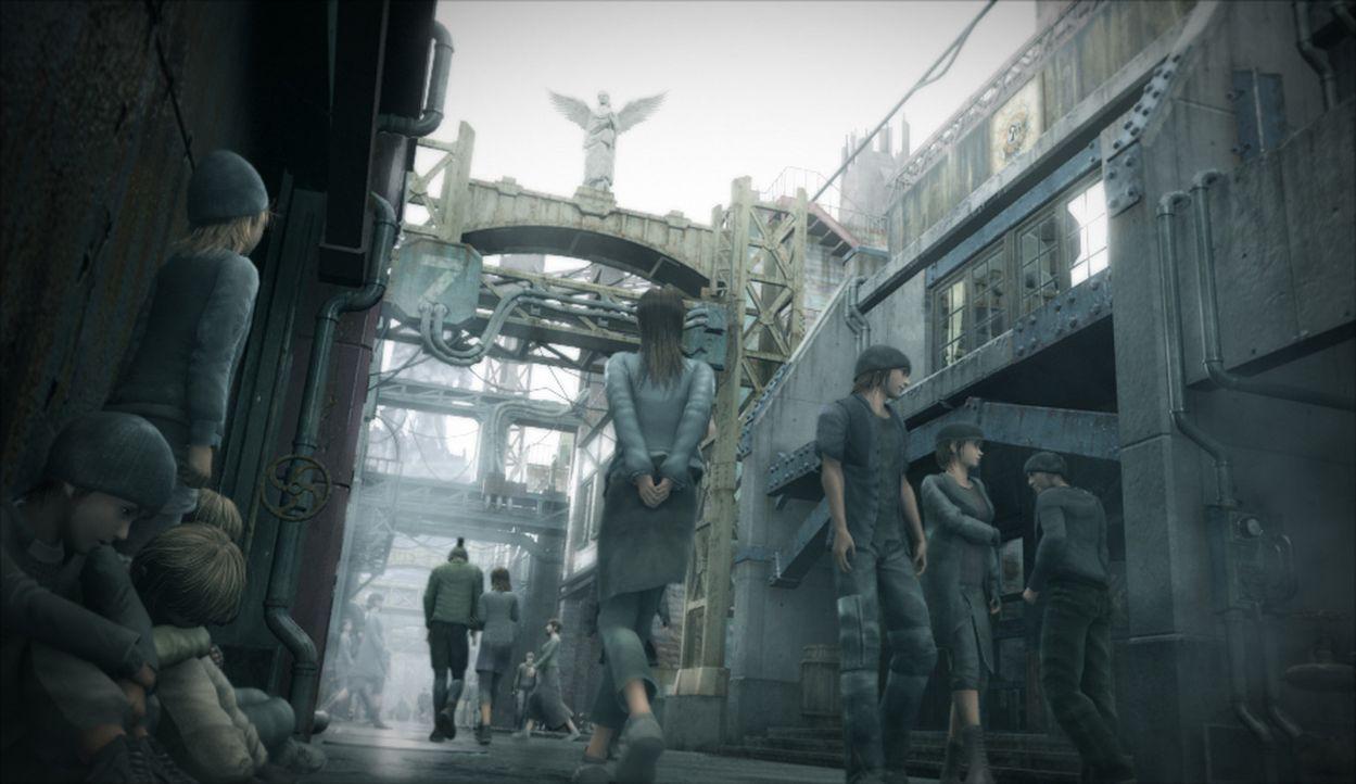Die Welt steht vor einer neuen Bedrohung steht: Eine geheimnisvolle Krankheit breitet sich rapide aus ... - Bildquelle: 2005 Square Enix Co., LTD. All Rights Reserved.