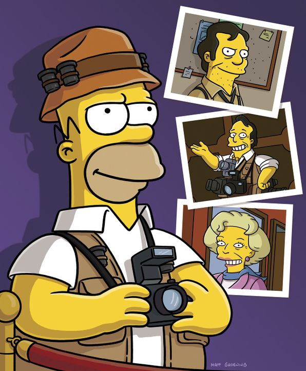 Homerazzi ... - Bildquelle: 2007FOX BROADCASTING