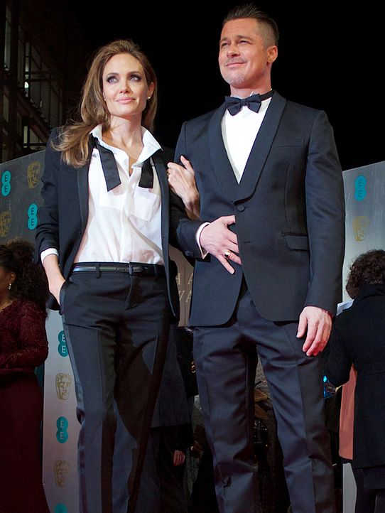 BAFTA-Angelina-Jolie-Brad-Pitt-14-02-16-2-AFP - Bildquelle: AFP