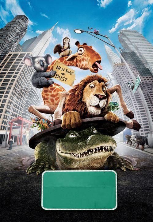 Eine große Reise wartet auf die Bewohner des New Yorker Zoos ... - Bildquelle: Disney Enterprises, Inc.  All rights reserved
