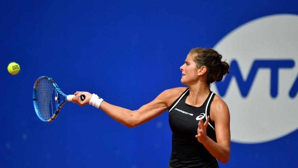 Julia Görges steht in New Haven im Halbfinale - Bildquelle: AFPSIDMikhail Voskresenskiy