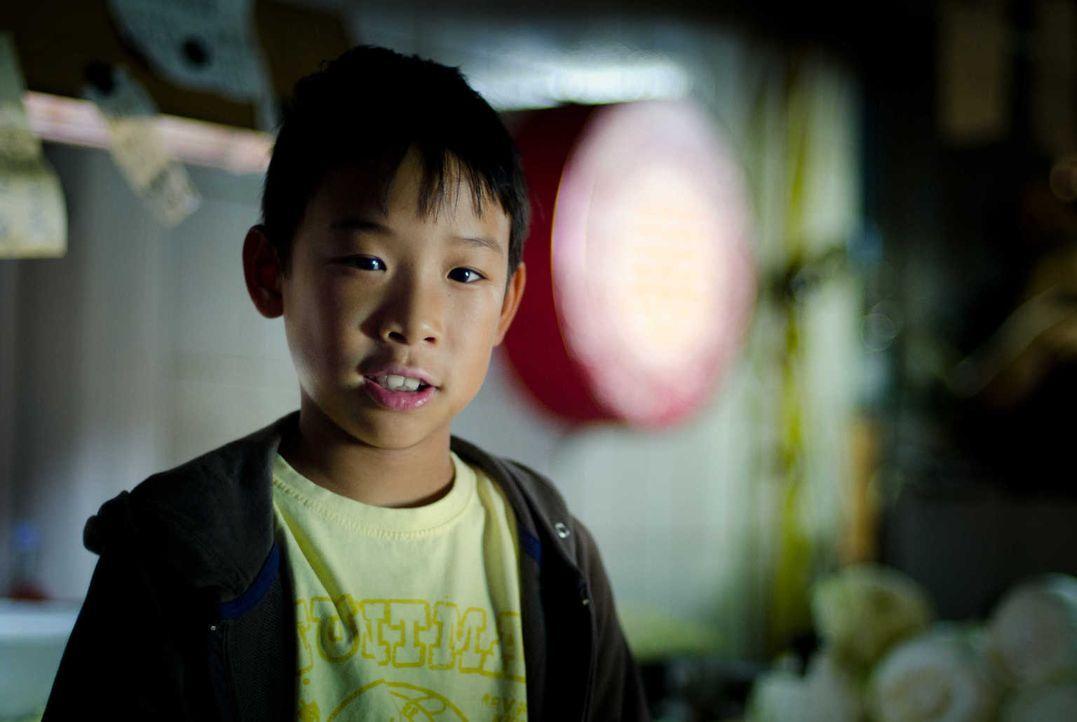 Weil seine Mutter eine Operation hat, wird der achtjährige Tao (Kevin Fang) zu Verwandten nach Wien gebracht. Doch kaum angekommen, wird er Zeuge ih... - Bildquelle: Silvia Zeitlinger SAT.1