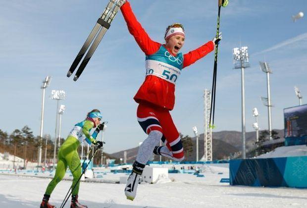 Endlich Gold für die Norge-Frauen durch Ragnhild Haga