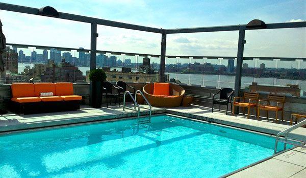 New York Sightseeing: Diese Orte müssen Sie gesehen haben - Bildquelle: Facebook/plunge Rooftop Bar & Lounge