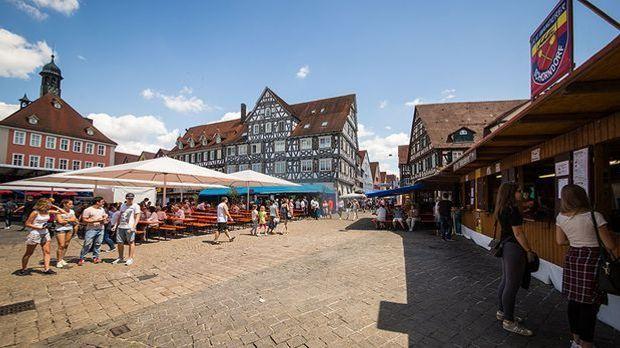 Stadtfest in Schorndorf