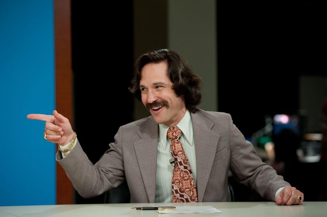 Schafft es Brian (Paul Rudd), zusammen mit dem Team die Quote des noch jungen Nachrichtensenders zu pushen? Chefin Linda setzt viel auf die eingespi... - Bildquelle: Gemma Lamana MMXIII Paramount Pictures Corporation.  All Rights Reserved.