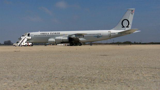 Die modifizierte Boeing 707 ist eines von nur zwei 707-Tankflugzeugen der Wel...