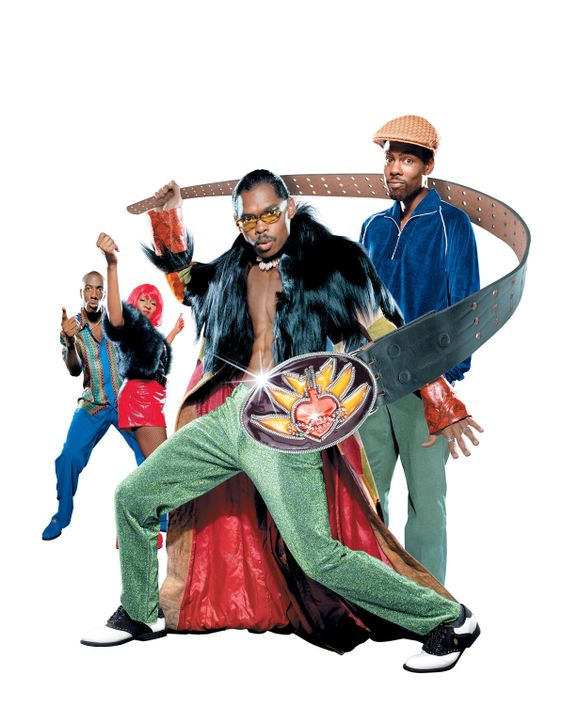 """Pootie Tang"" mit: (v.l.n.r.) J. B. Smoove, Wanda Sykes, Lance Crouther und Chris Rock ? - Bildquelle: 2001 PARAMOUNT PICTURES"