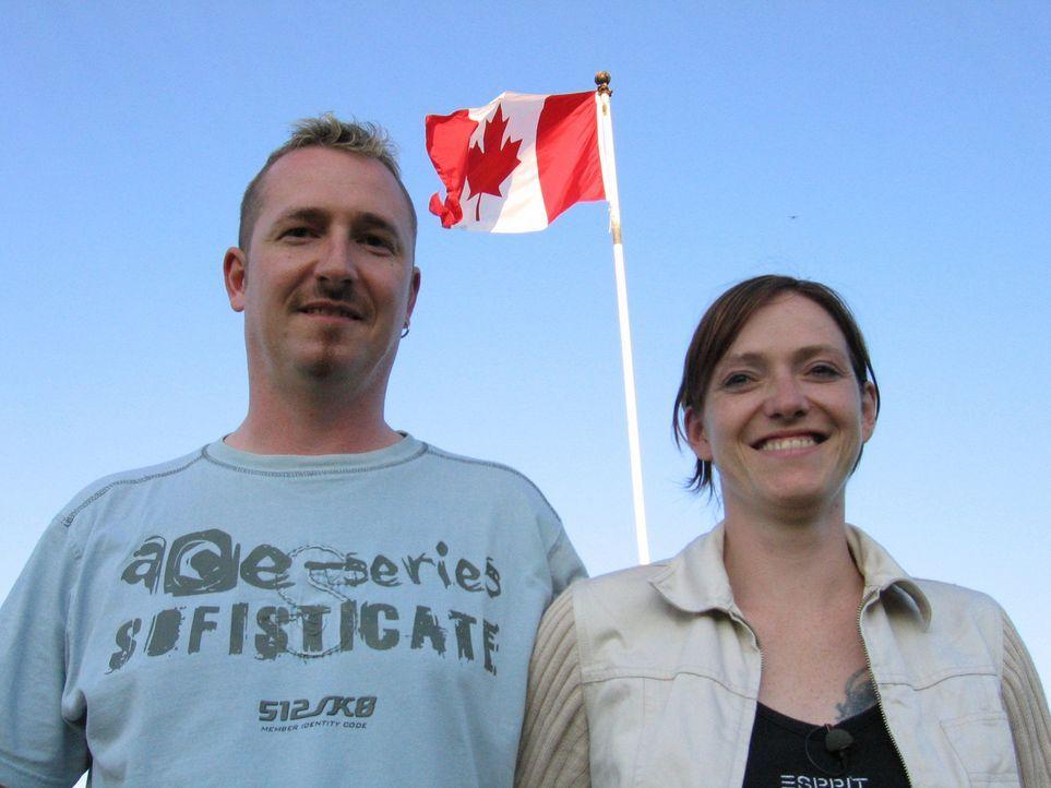 Hauptfeldwebel David Traumann (34) und seine Frau Anja (32) wollen ein neues Leben in Kanada beginnen … - Bildquelle: kabel eins