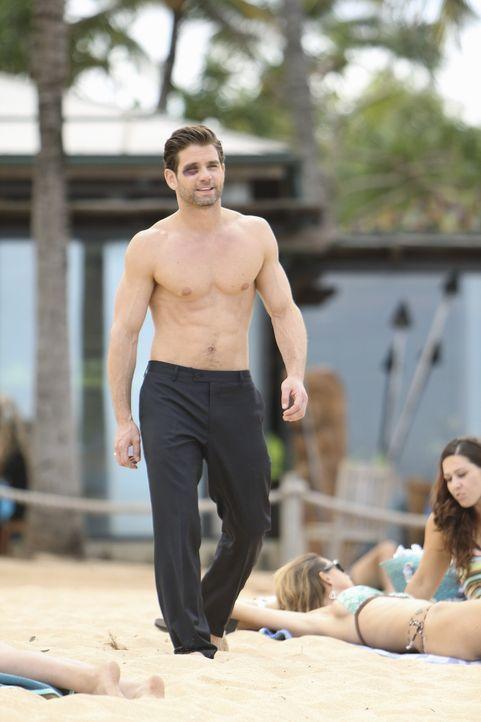 Laurie versucht, sich durch einen Hotelflirt (Andrew DiPalma) aufzuheitern ... - Bildquelle: 2010 ABC INC.
