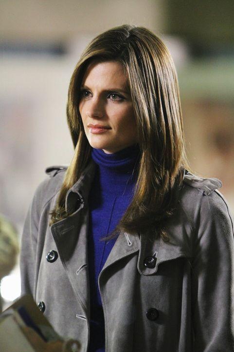 Arbeitet an einem neuen Fall: Kate Beckett (Stana Katic) - Bildquelle: 2010 American Broadcasting Companies, Inc. All rights reserved.